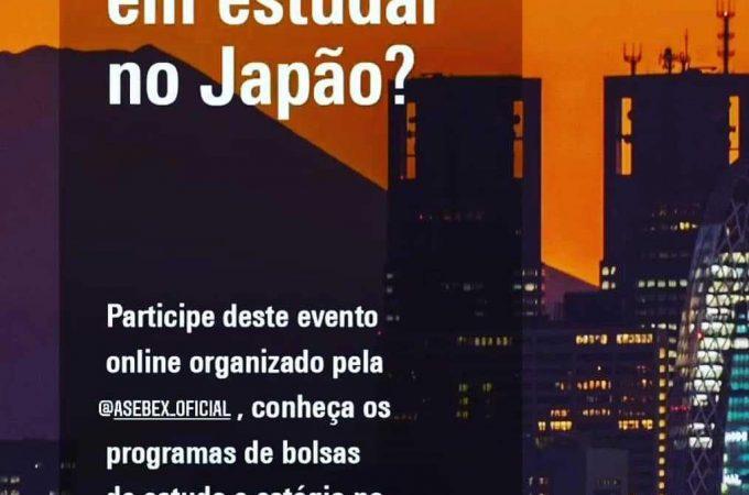 Asebex promove Workshop online de Bolsas de Estudo no Japão