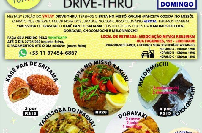 Yatay Drive Thru no dia 30 de maio